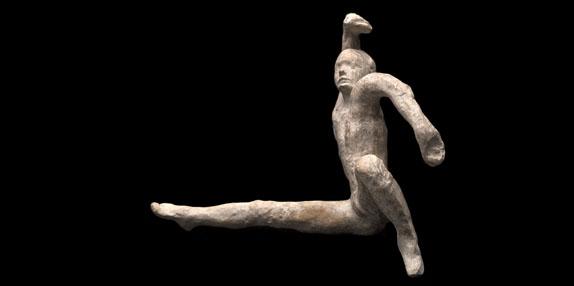 Une figurine de Rodin
