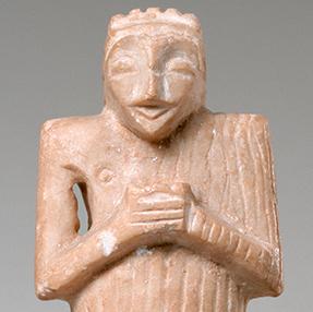 Statuette d'homme en prière, SUs
