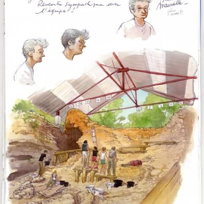 Site préhistorique de Marillac-le-Franc