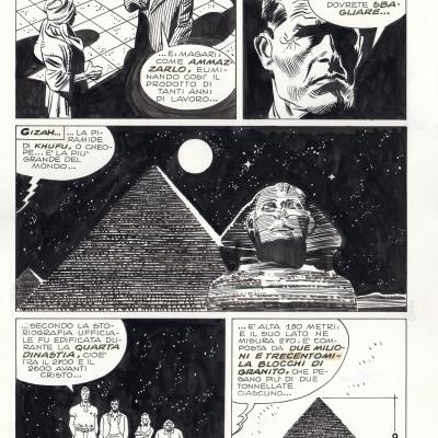 Martin mystère, tome III, La grande piramide ( titre italien)