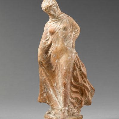 Figurine de jeune fille dansant dite Danseuse Titeux