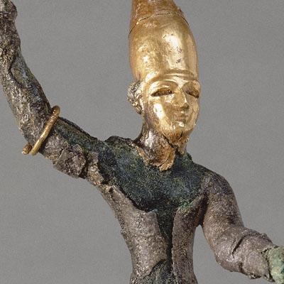 Baal brandissant le foudre