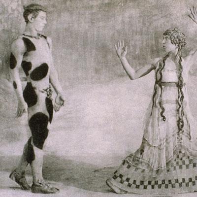 Nijinsky et une danseuse, Danseuse et Nijinsky, Nijinsky et six danseuses