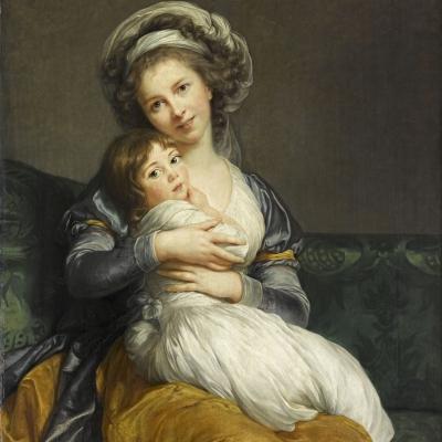 Madame Vigée Le Brun et sa fille