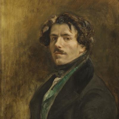 """Portrait de l'artiste dit au """"gilet vert"""""""