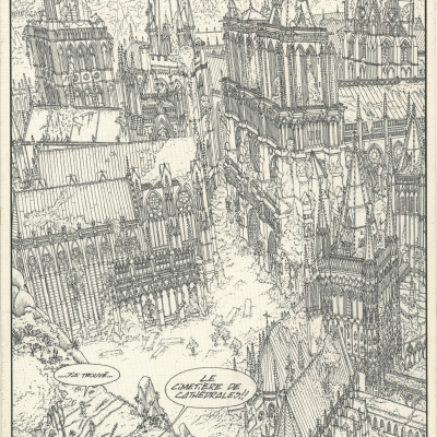 Le Cimetière des cathédrales