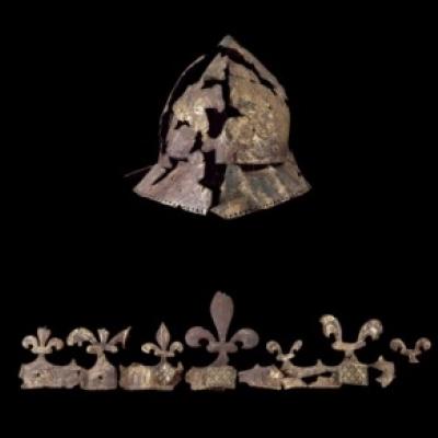 Casque du roi de France Charles VI
