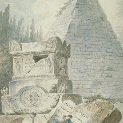 Ruines et tombeaux