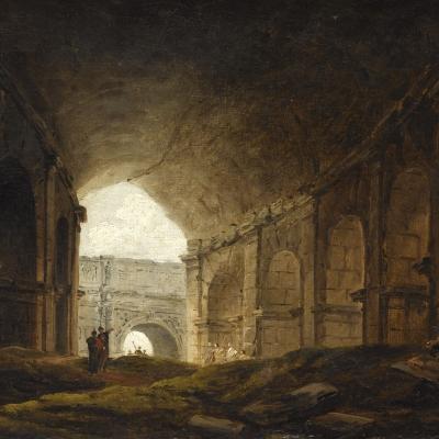 Intérieur du Colisée
