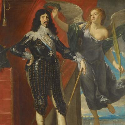 Louis XIII couronné par la Victoire