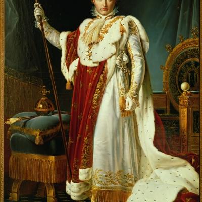 L'Empereur Napoléon 1er en costume de sacre