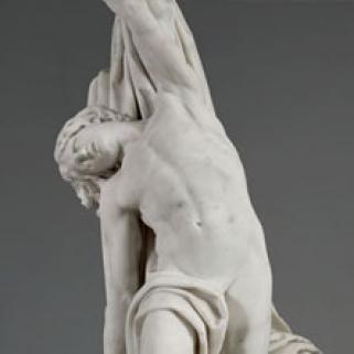Détail de la sculpture de Dejoux