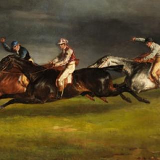 Détail de la peinture de Géricault