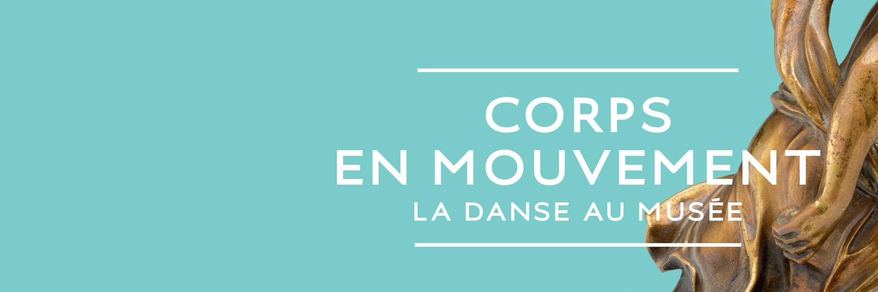 """Affiche de l'expo """"Corps en mouvement"""""""