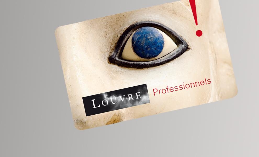 Visuel de la carte Louvre pro