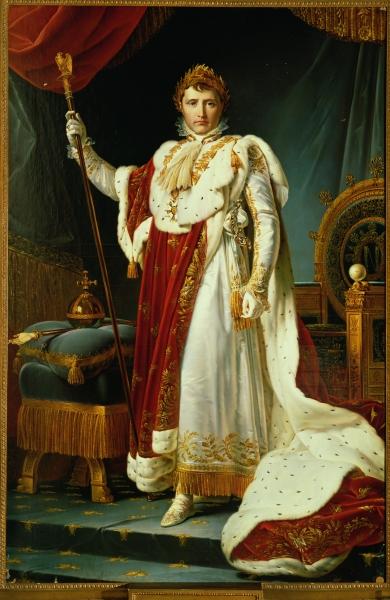 L Empereur Napoleon 1er En Costume De Sacre Petite Galerie Musee Du Louvre