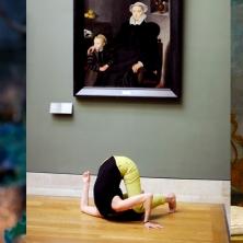"""Pinocchio / Danse devant un œuvre / Peinture """"Circé"""""""