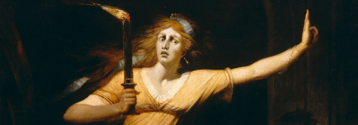Johann Heinrich Füssli:Lady Macbeth somnambule © RMN - Grand Palais (Musée du Lo