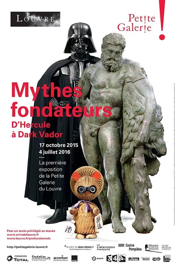 Affiche de l'exposition Mythesfondateurs
