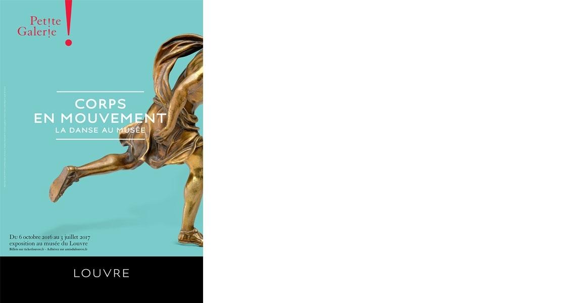 """Affiche de l'exposition """"Corps en mouvement"""""""