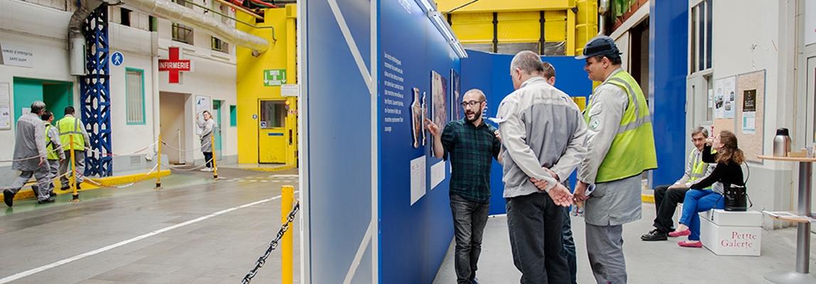 Photo de l'installation à l'usine